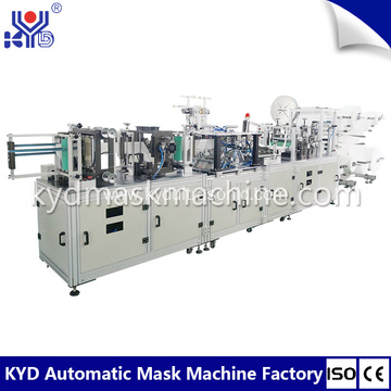 3D automatic folding headband earloop mask making machine